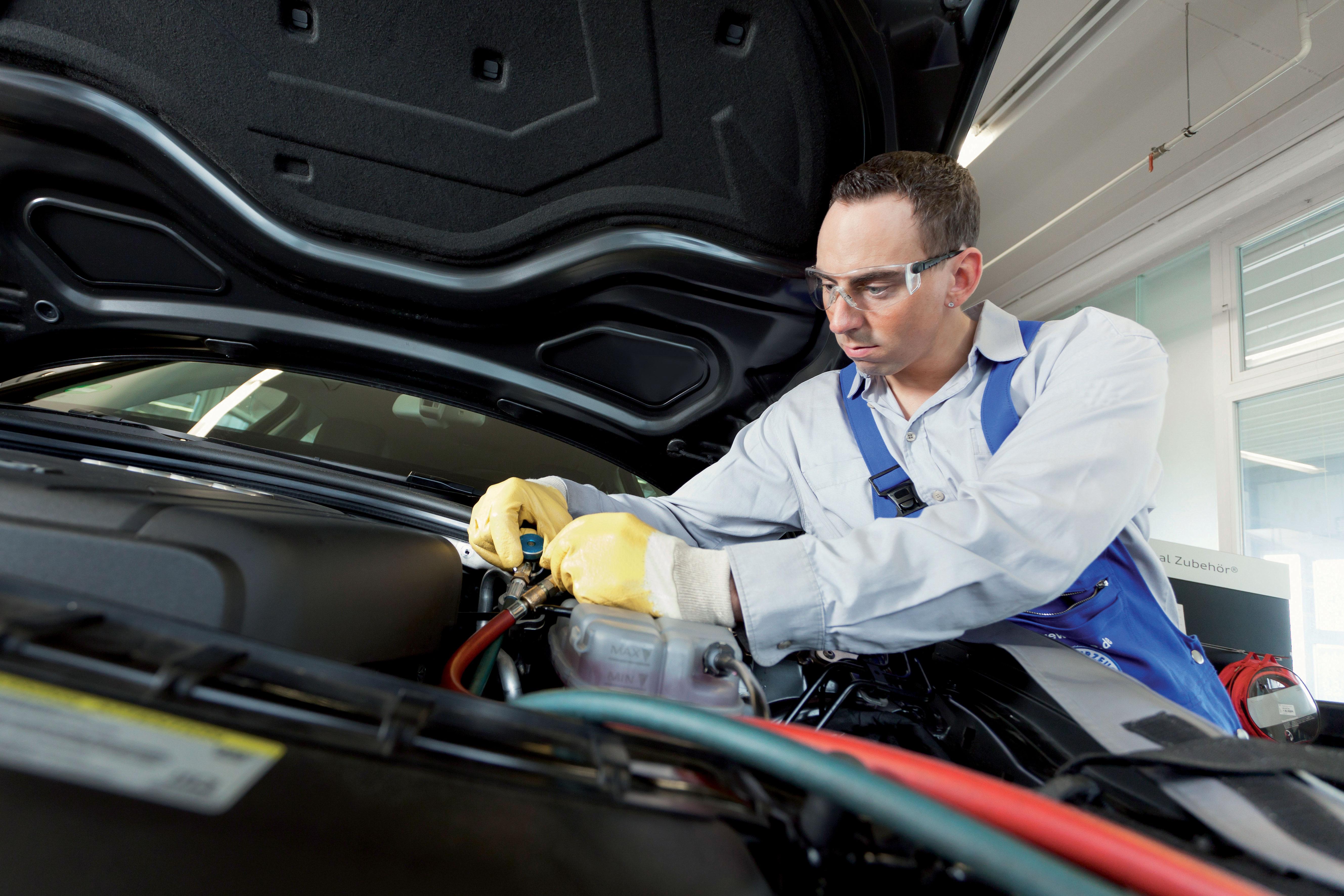 Klimaanlagen in Kraftfahrzeugen (Grundlehrgang)